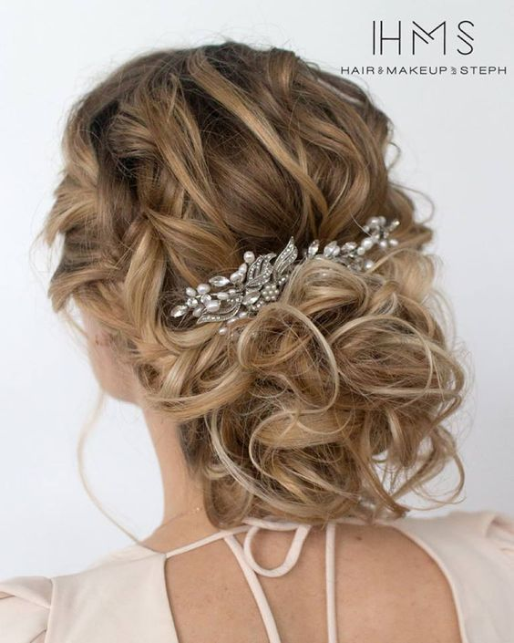 Superb 1000 Ideas About Messy Wedding Hairstyles On Pinterest Messy Short Hairstyles Gunalazisus