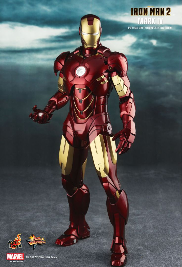 Hot Toys : Iron Man 2 - Mark IV 1/6th scale Limited Edition Collectible Figurine