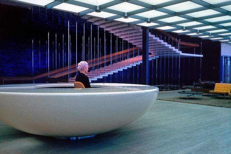 Eero Saarinen - General Motors Technical Center - Warren, Michigan 1949-1956