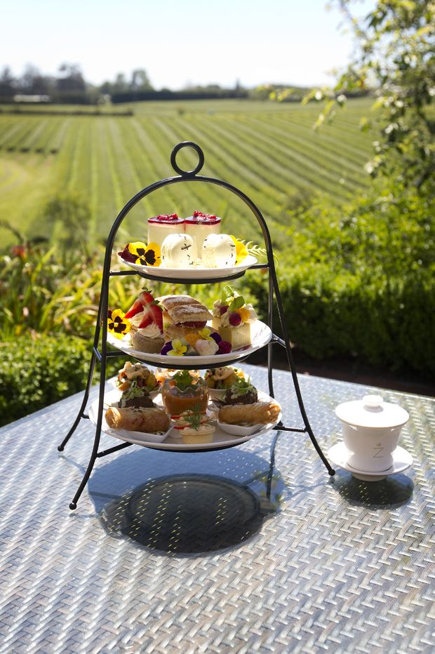 High tea on plantation an unusual delight - Zealong Estate Tea tours, restaurant & tastings
