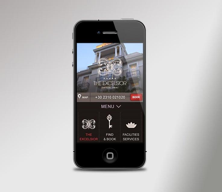 Excelsior Hotel Mobile Website
