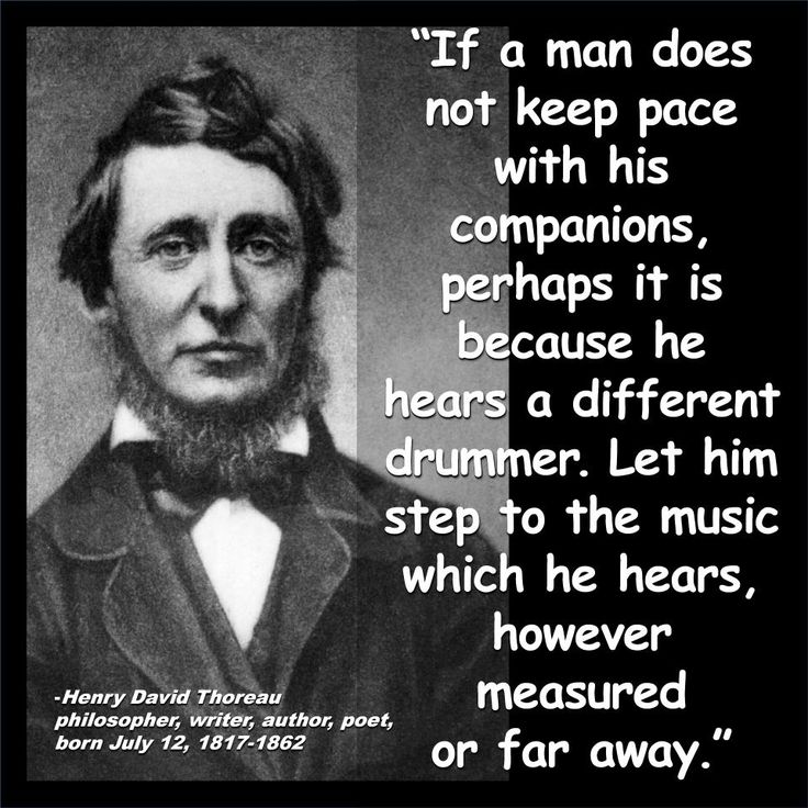 An analysis of the second quote of henry d thoreau