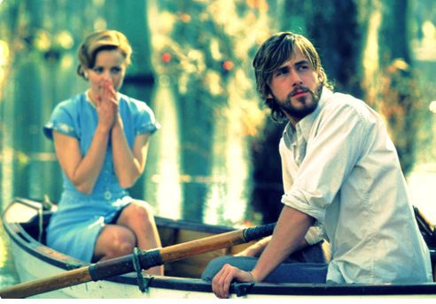 The Notebook - Rachel McAdams and Ryan Gosling. Favorite movie