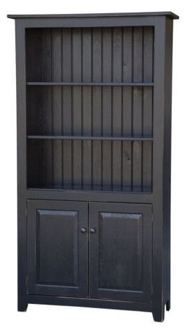Amish Handmade Customer Bookcase Heirloom Furniture Made in America