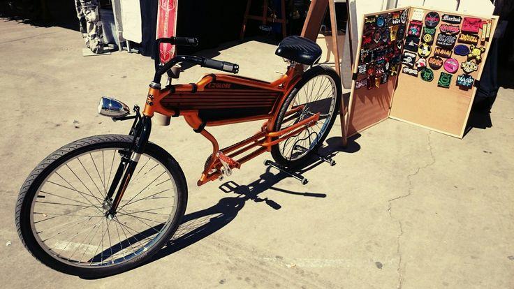 Bici custom con monopatín incluido, alcorcon Madrid