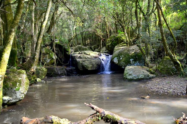Madonna And Child waterfall pool, Hogsback, South Africa photographer Jan Widmann