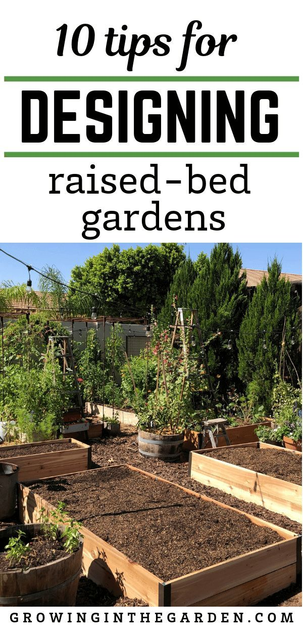 Raised Bed Garden Design Tips Vegetable Garden Design Vegetable