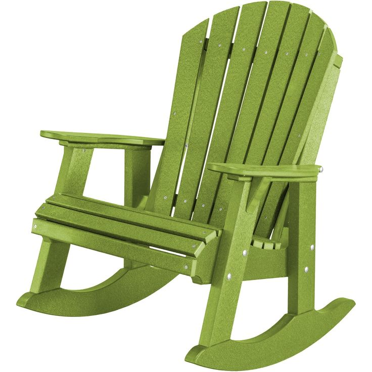 Wildridge Recycled Plastic Heritage High Fan Back Rocking Chair