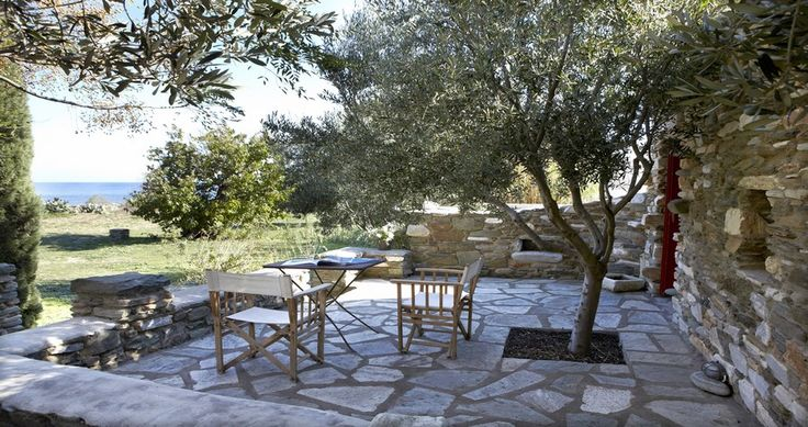 "Check Villa ""Lychnaftia"", Tinos Island, Greece ! You can rent it ! #luxury #villa #rent #holidays #greece #vacances #grece #alouer #aroomwithaview #sea #bedroom #decoration #swimmingpool #beautiful #sunset #luxuryvilla"