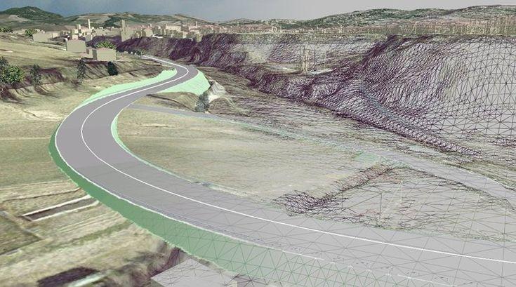 Progetto strada Valche di Matelica, Matelica, 2008 - GeoInformatiX, Alberto Antinori