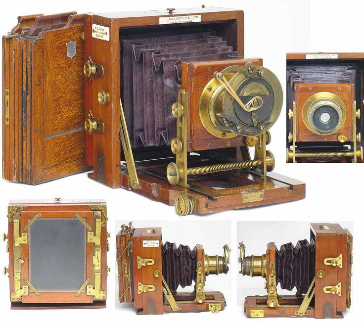 Lancaster 1896 Instantograph camera
