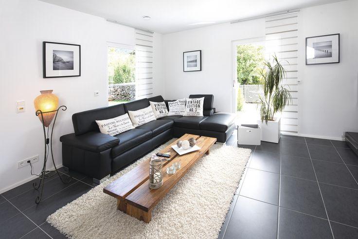#weberhaus #Fertighaus #holzbauweise #Wohnzimmer #Sofa #couch