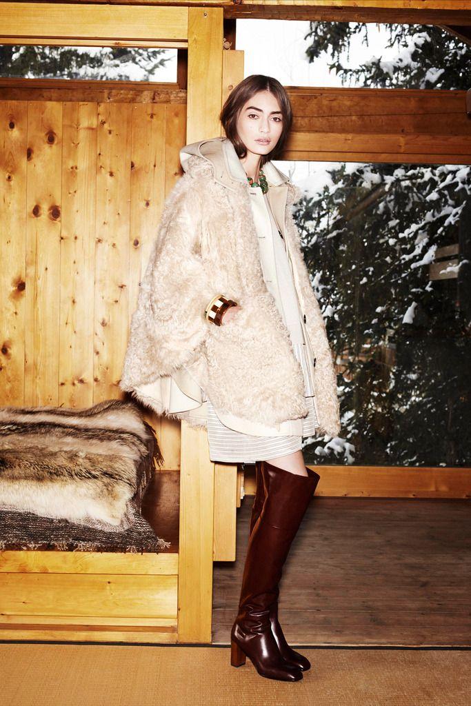 ¿NADA QUE PONERTE? 'Abrigada' y 'sofisticada' nunca más serán términos antagónicos. No al menos después de ver la colección prefall 2014 de Louis Vuitton.