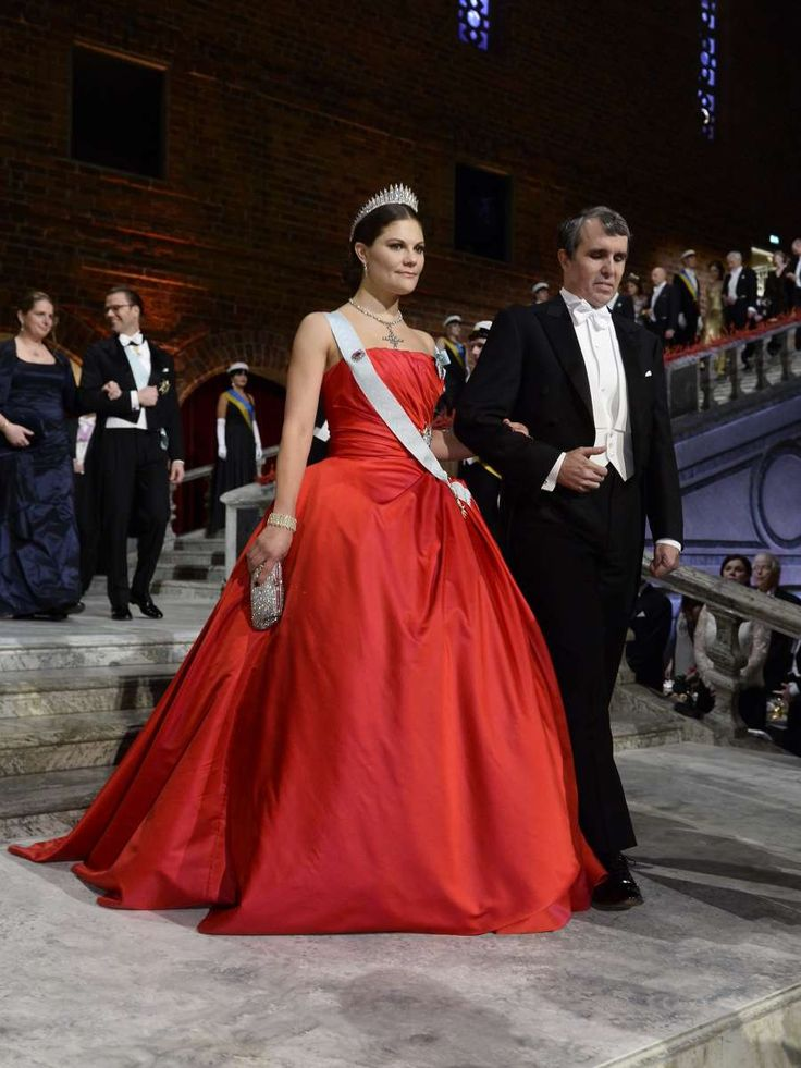 Crown Princess Victoria in Nobel Prizes, 2014 in Sweden