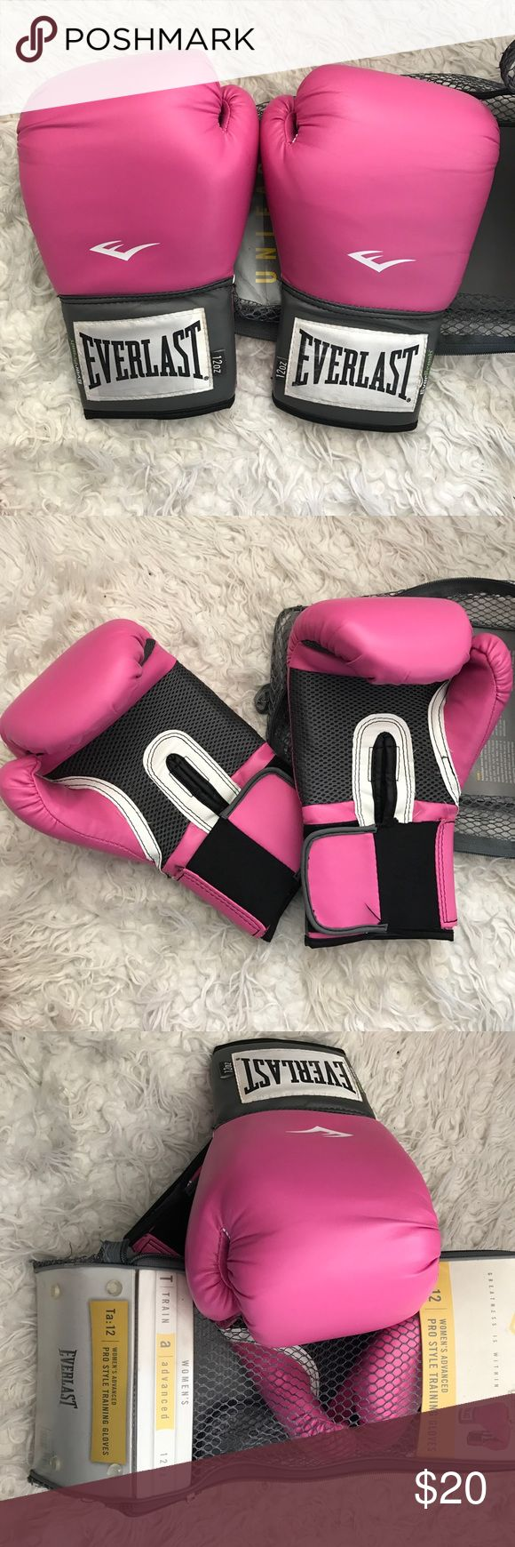 Everlast Boxing Gloves Great Condition, Comes w/ Bag Other
