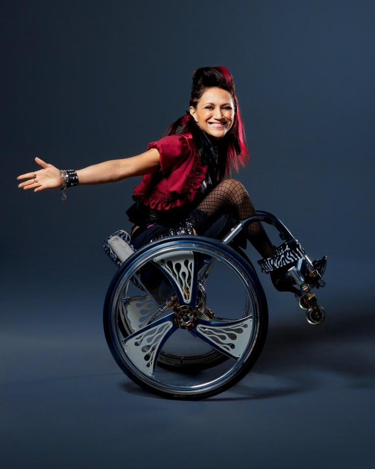 #PUSHGIRLS: #Auti Angel. Shortly after launching her professional dance career at 18, working with the likes of LL Cool J and *N.W.A*, a life-threatening auto accident left Auti paralyzed. But nothing could keep her off the dance floor; the fiery Auti formed a hip-hop wheelchair dance group. PUSH GIRLS | Mondays at 10P on Sundance Channel