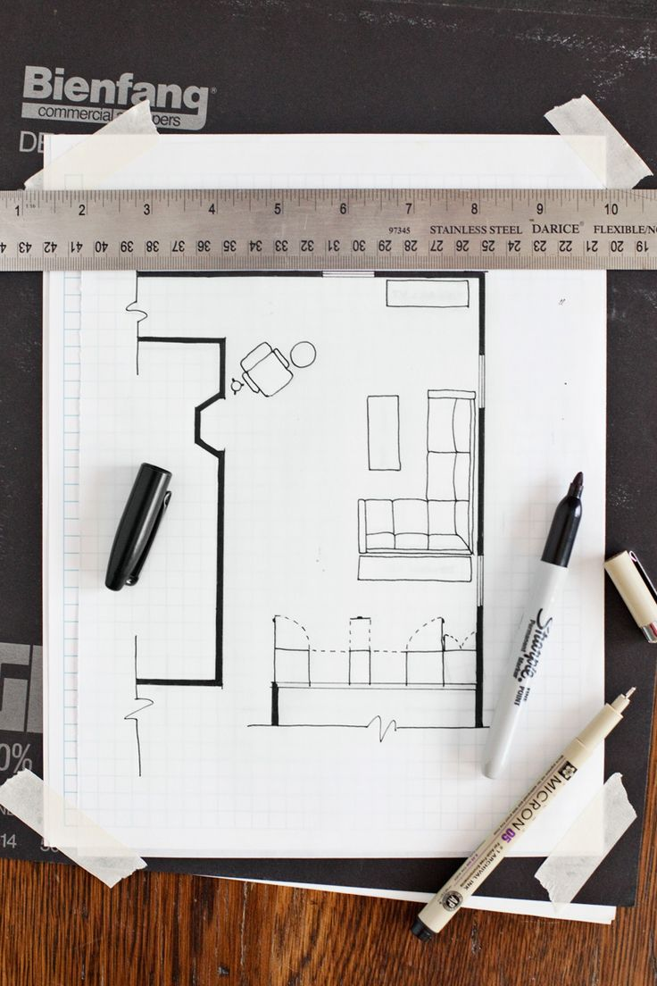 How to Draw a Floor Plan without any special tools or
