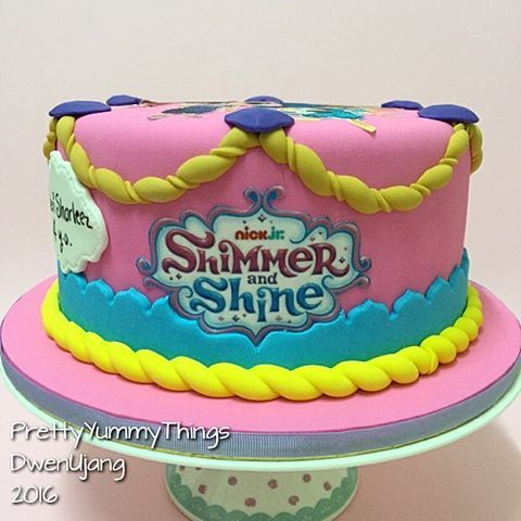 shimmer y shine fondant cakes - Buscar con Google