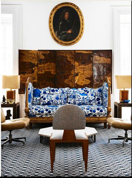 Lorenzo Castillo S Livingroom Josef Frank 39 S La Plata On