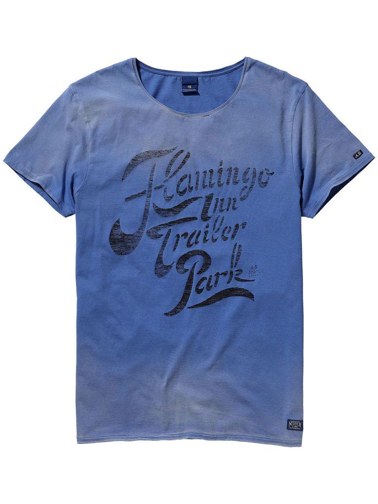 Vintage Wash T-Shirt |T-shirt s/s|Men Clothing at Scotch & Soda