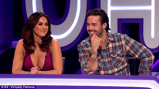 Exes:They enjoyed a very brief romance last year, but there's still tension between ex Geordie Shore star Vicky Pattison and her former flame, Made in Chelsea's Spencer Matthews