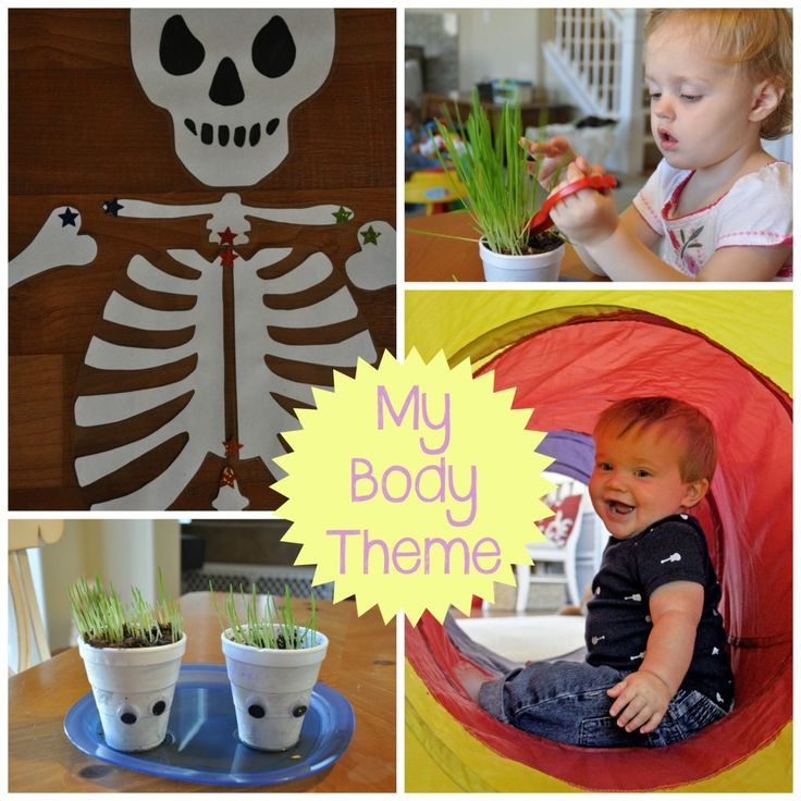'My Body' Preschool Theme | Preschool and Toddler 'All About Me' Activities