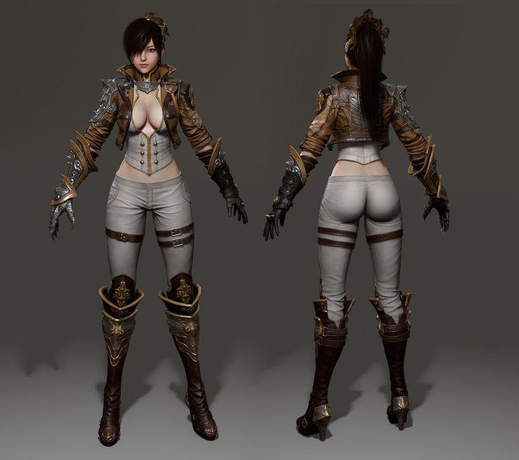 ArtStation - 《Attack on Titan_Katarina》Final Manufacturing process, Ju long