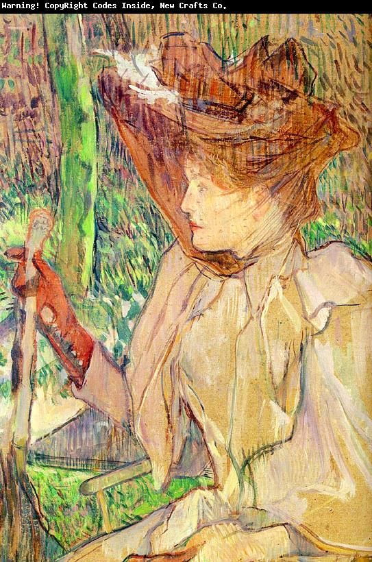 Honorine Platzer -Mujer con Aguantes- Henri Toulouse-Lautrec Abra las ... -repinned by http://LinusGallery.com #art #artists #oilpainting