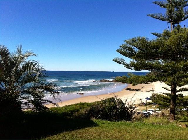 Beach at Port Macquarie - New South Wales - Australia