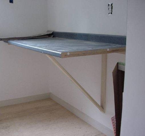 Handmade Folding Table Laundry Room