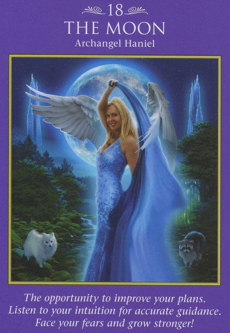 Archangel Haniel - Archangel Power Tarot Card Deck