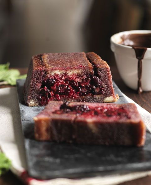 110 best summer recipes images on pinterest british food recipes madeira summer pudding with warm chocolate sauce bbc recipesxmas forumfinder Image collections