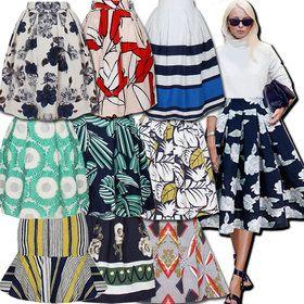 Gmarket - Flare Skirt/Linen