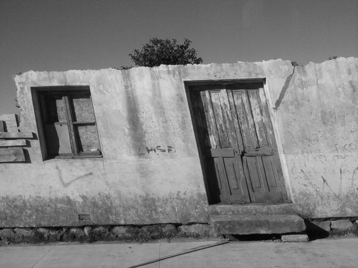 Las interminables calles de hualqui, con su sol que no para.