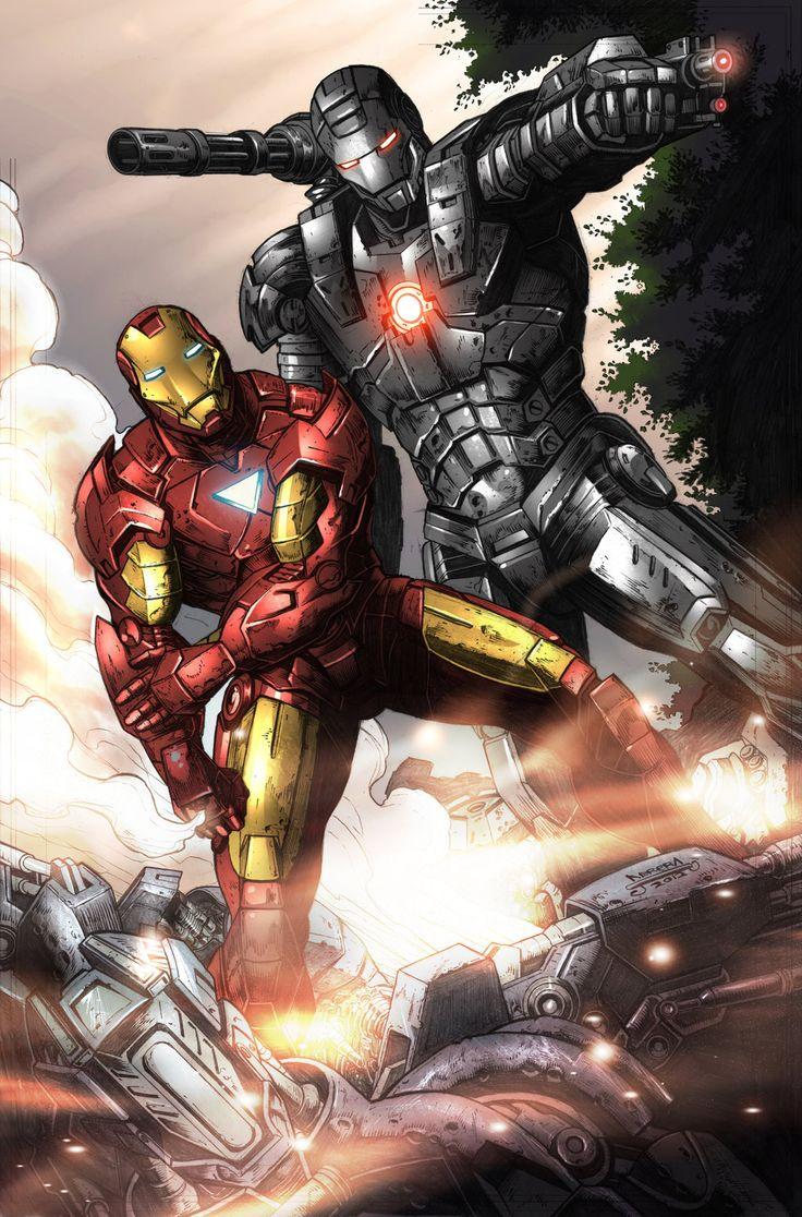 Iron Man War Machine by Julius Abrera. Colors by Bryan Arfel Magnaye