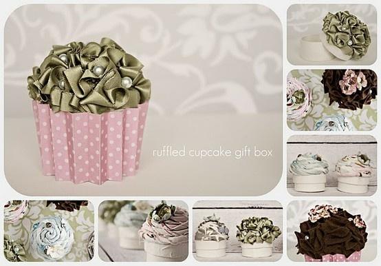 Cupcake Decorations.  So cute! fun-to-make