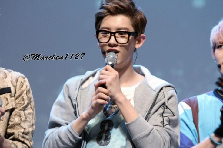 Cute Chanyeol with Glasses ♥