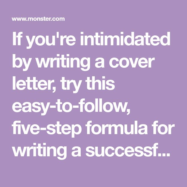 The  Best Writing A Cover Letter Ideas On   Cover