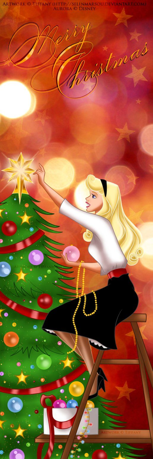 Aurora's Christmas by *selinmarsou on deviantART