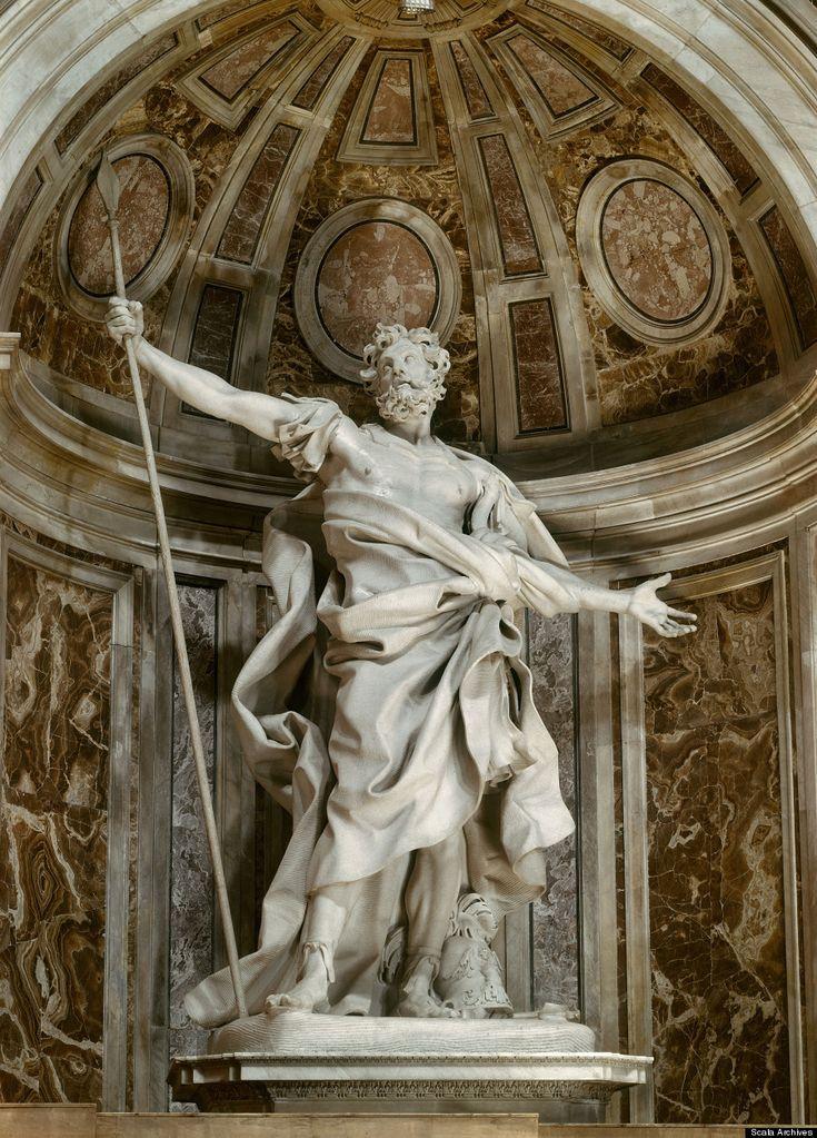 San Longinos, Gian Lorenzo Bernini, Basílica de San Pedro del Vaticano, 1629-38