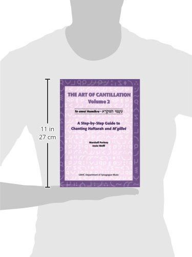 The Art of Cantillation, Vol. 2: A Step-By-Step Guide to Chanting Haftarot and Mgilot with CD (Audio
