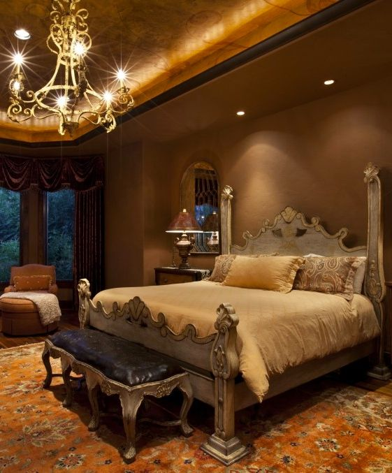 Mediterranean Bedroom Design Pictures Remodel Decor And Ideas