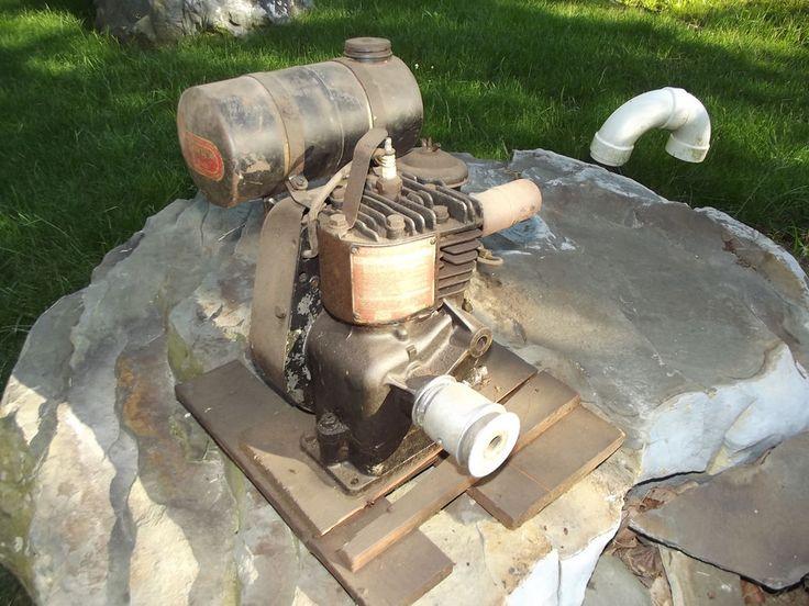 David Bradley Tractor Mower Minibike GoCart Briggs Stratton Sears Vintage engine #DavidBradleySears