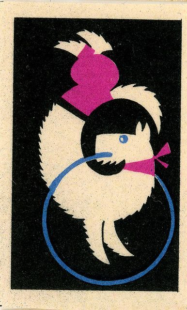 Match Box Label, circus by gr8plunder, via Flickr