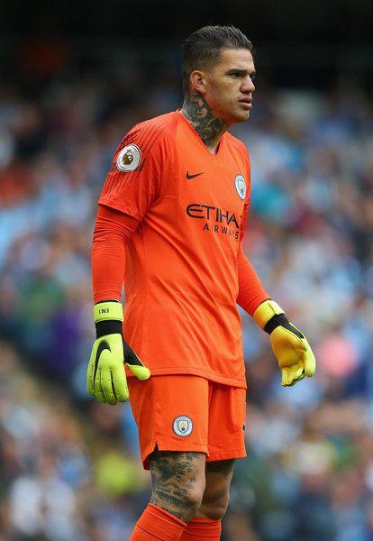 Best Ederson Moraes Sweet Orange Kit Manchester City Football 640 x 480