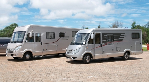 One of Europe's oldest motorhome manufacturers now has representation in South Africa, through local importers TravelStar. We were there for the excitement when the first of Hymer's distinctive models came ashore in PE!