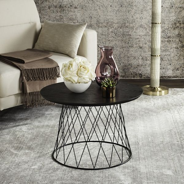 awesome Safavieh Roper Black End Table