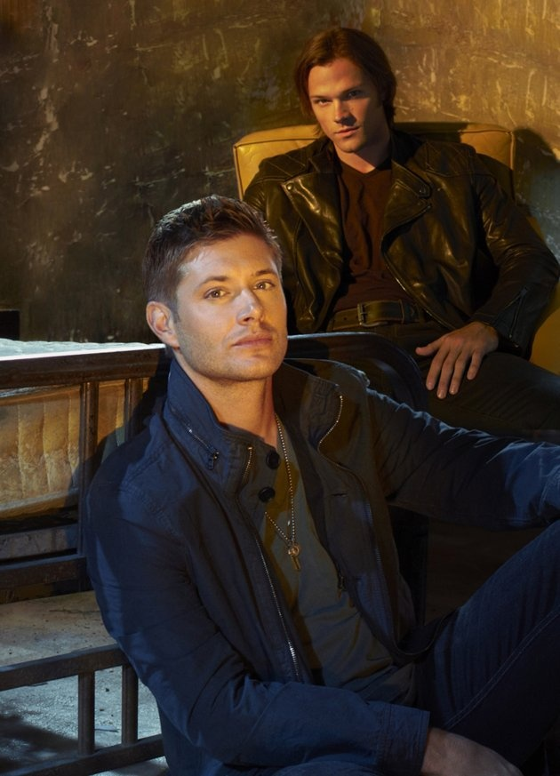 Supernatural on the CW. I <3 those Winchester boys.