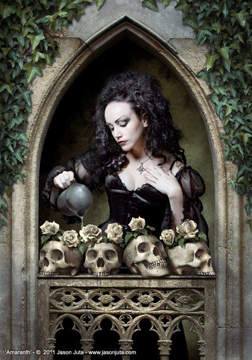 gothic sexy girl art | ... 2d_fantasy_goth_gothic_girl_woman_skulls_picture_image_digital_art.jpg