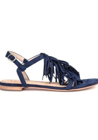Ploché sandálky s třásněmi #modino_cz #modino_style #sandals #summer #shoes #style # fashion #ModinoCZ
